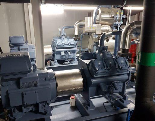 2 stk. 400 kW NH3 anlæg til Bispebjerg Hospital