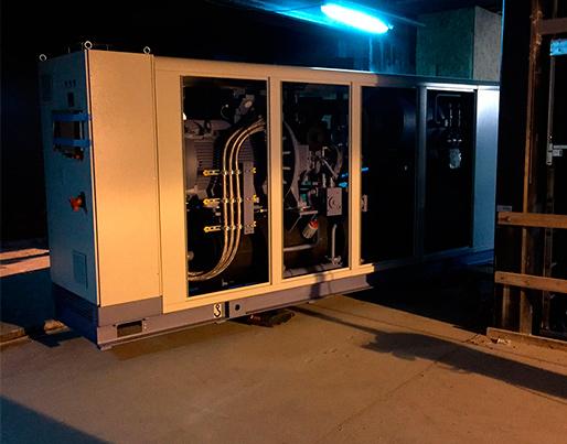 1 MW NH3 chiller til komfortkøling